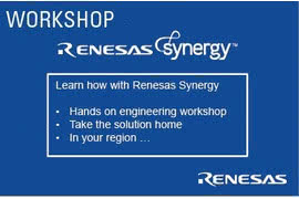 Seminarium Renesas Synergy Workshop, Gdańsk 25.10.2017