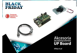 Black Friday - akcesoria do komputerów UP Board